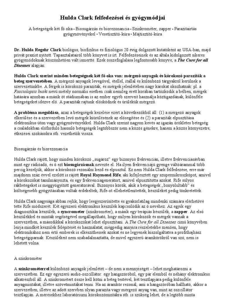 az enterobiasis diagnosztizálására módszerekkel)