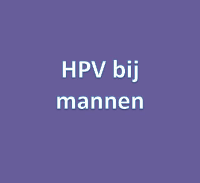 hpv vírus bij mannen