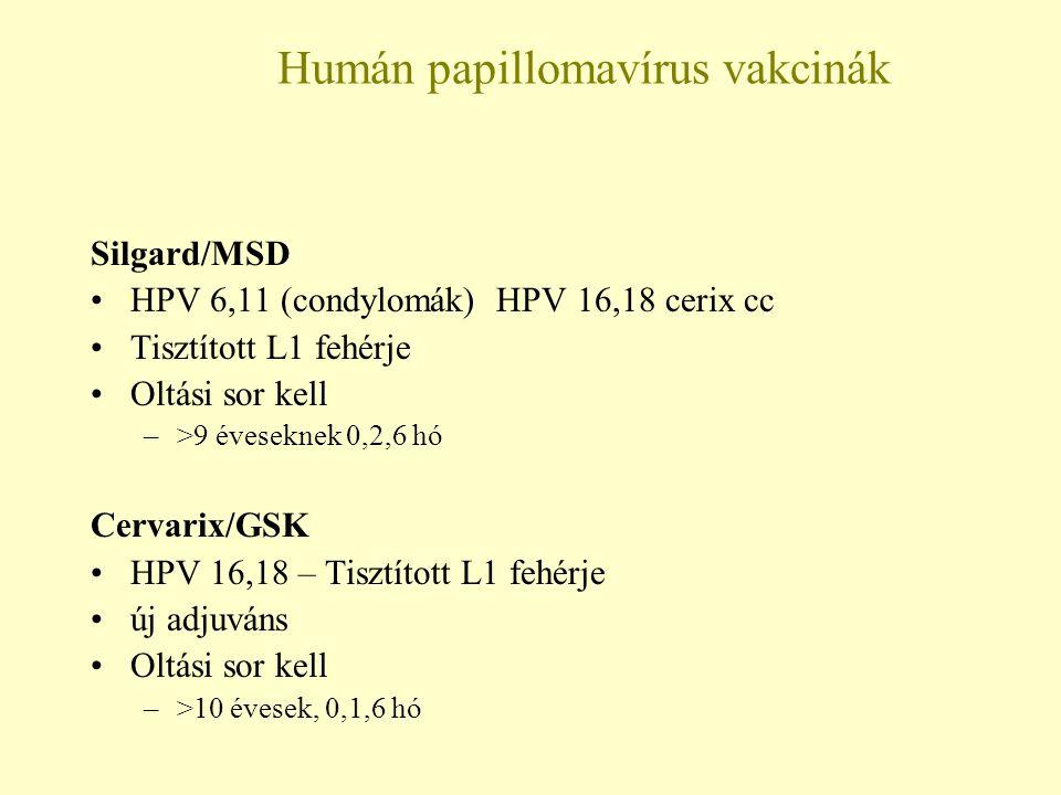 humán papillomavírus kezelési rend féreghajtó nyúl