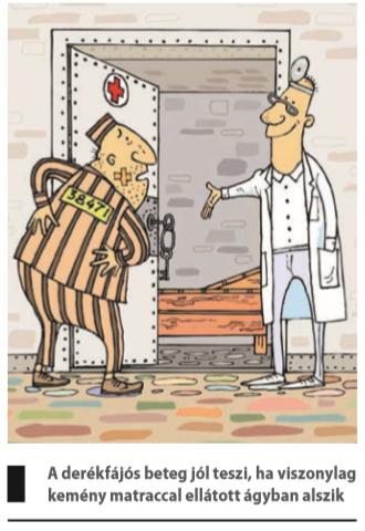vastagbélrák és derékfájás